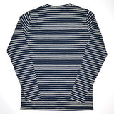 Norse Projects - Godtfred Hemp Stripe Long-Sleeve T-shirt - Navy