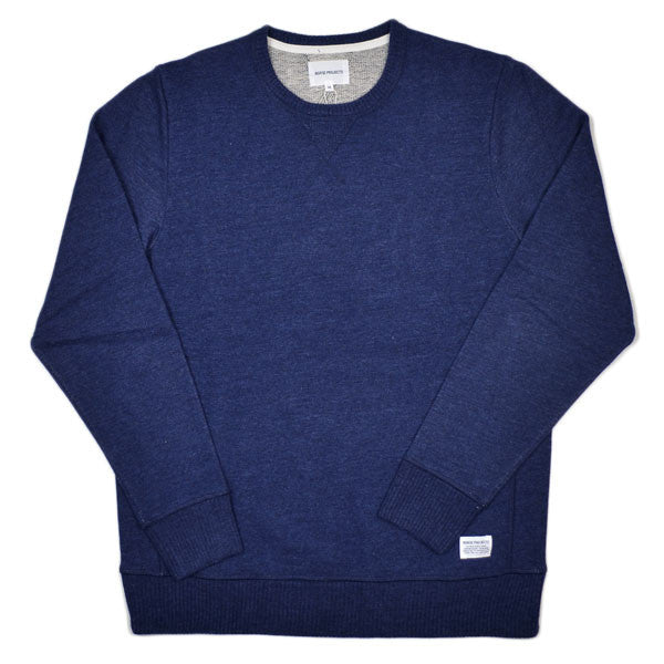 Norse Projects - Gustav Crew Sweatshirt - Navy