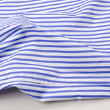 Norse Projects - Hans Classic Stripe Shirt - Blue/Grey Stripe
