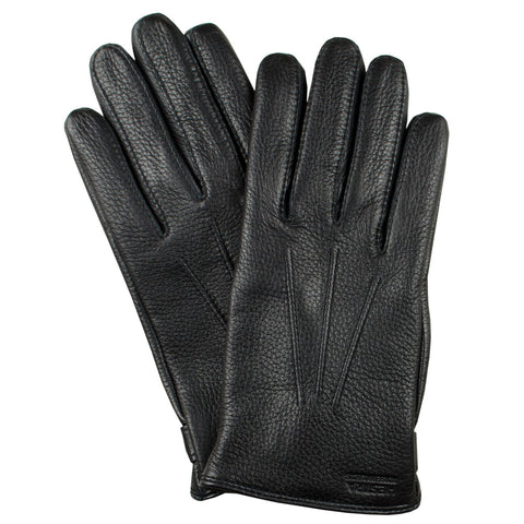 Norse Projects x Hestra - Salen Leather Gloves - Black