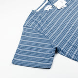 Norse Projects - James Fine Stripe T-shirt - White / Navy