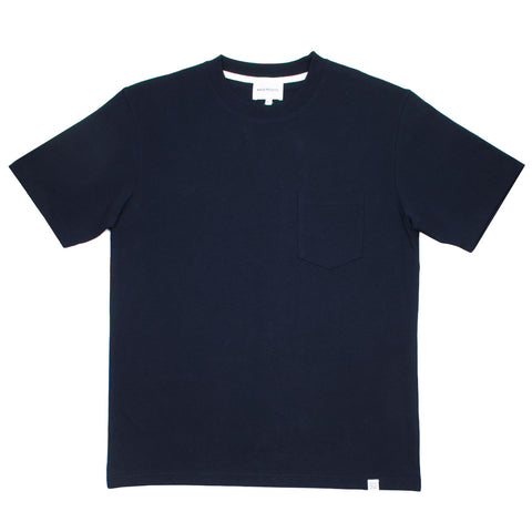 Norse Projects - Johannes Pocket T-shirt - Dark Navy