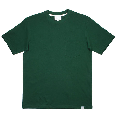 Norse Projects - Johannes Pocket T-shirt - Dartmouth Green