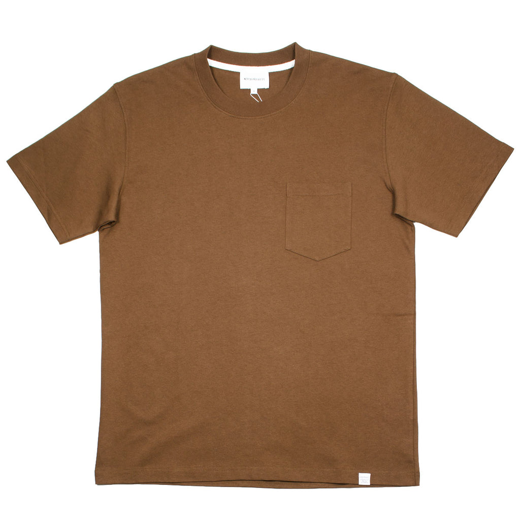 Norse Projects - Johannes Pocket T-shirt - Duck