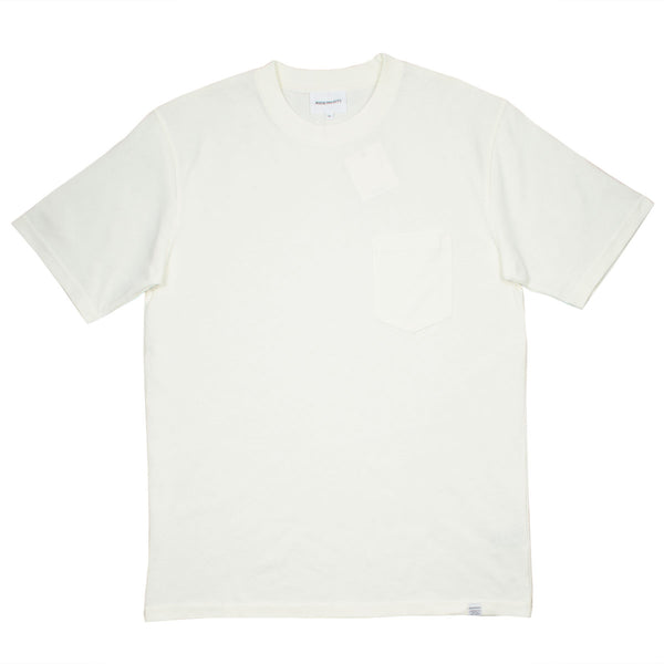 Norse Projects - Johannes Pocket T-shirt - Ecru