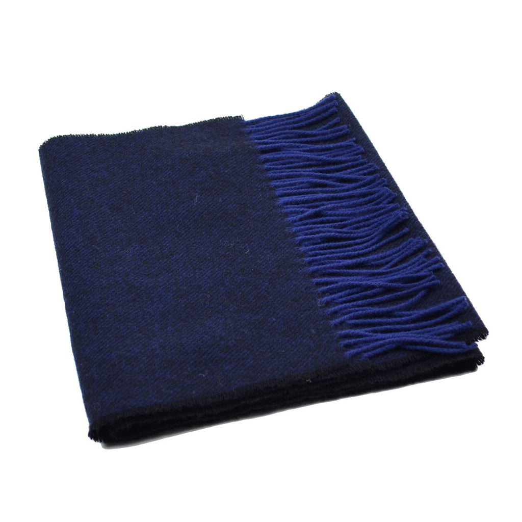 Norse Projects - Johnstons x Norse Donnegal Scarf - Dark Navy