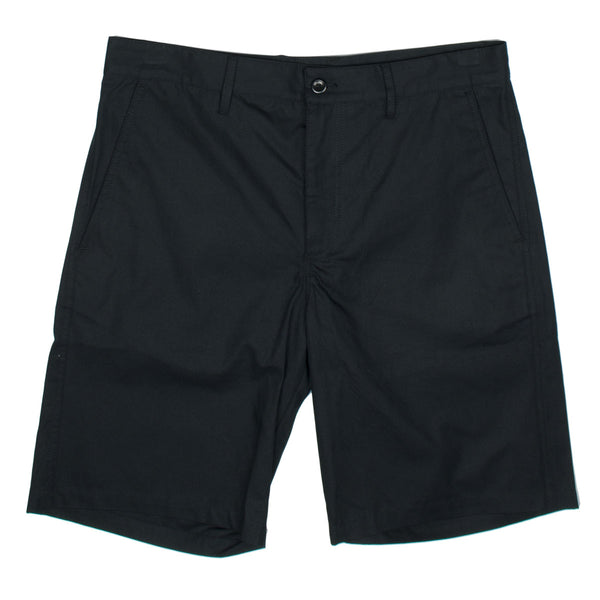 Norse Projects - Josef Cotton Linen Shorts - Black