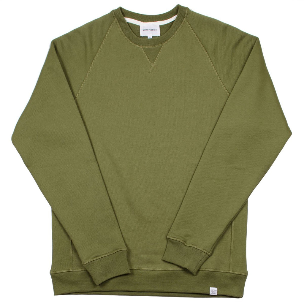 Norse Projects - Ketel Classic Crew Sweatshirt - Lichen