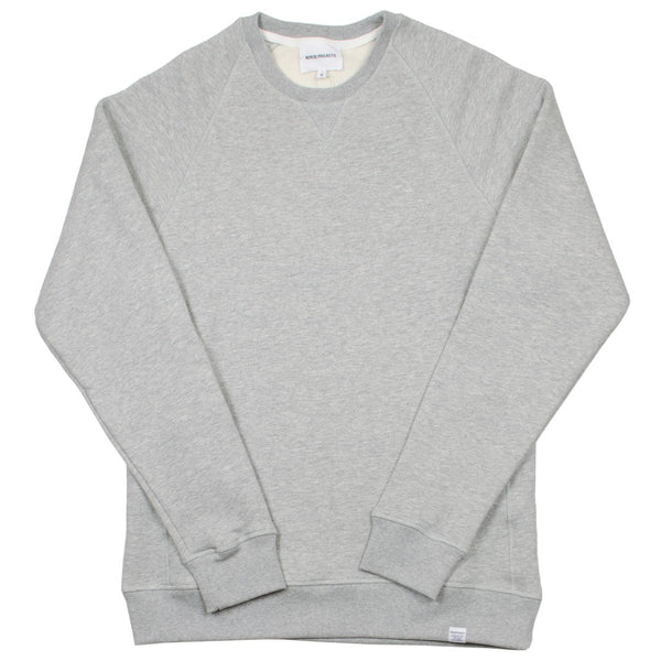 Norse Projects - Ketel Classic Crew Sweatshirt - Light Grey Melange