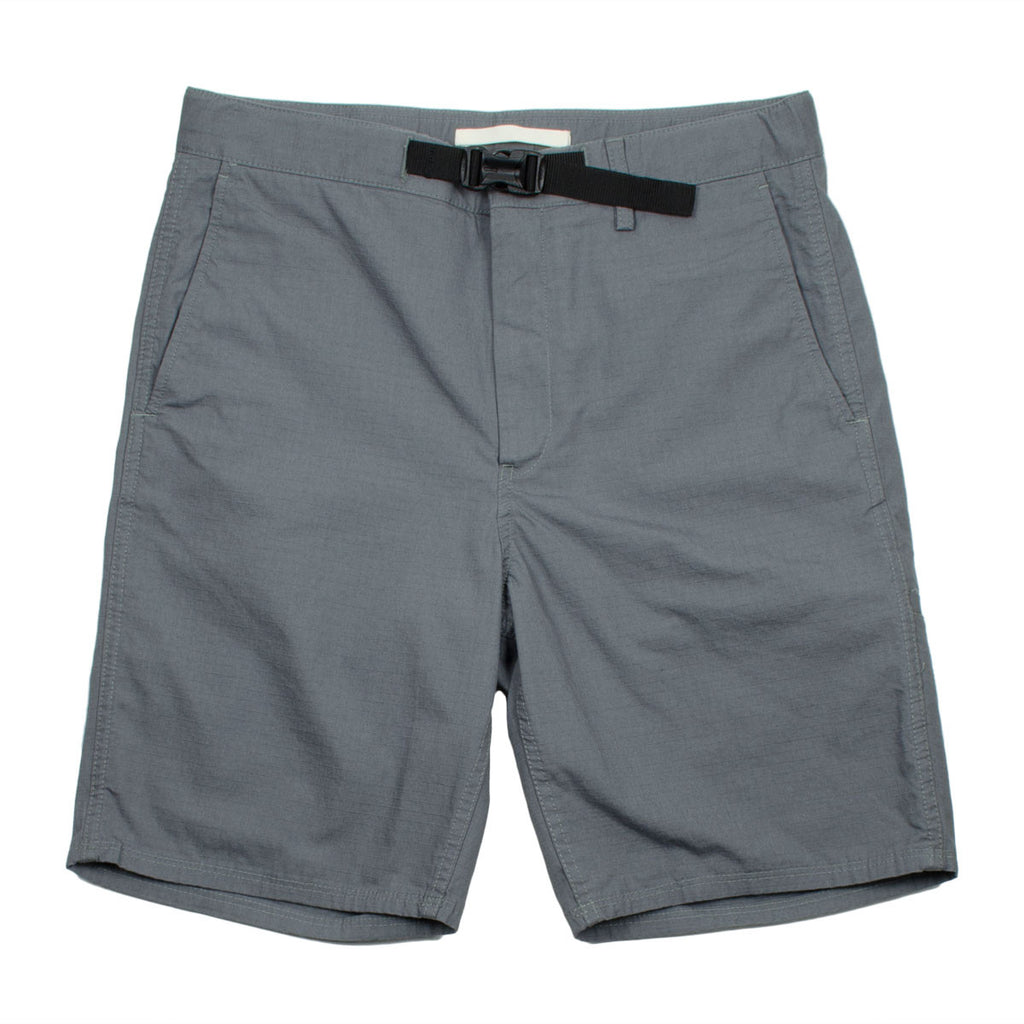 Norse Projects - Laurits Ripstop Shorts - Mouse Grey