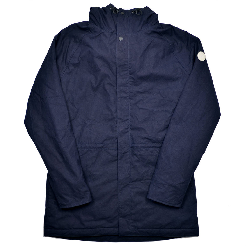 Norse Projects - Lindisfarne Parka - Dark Navy