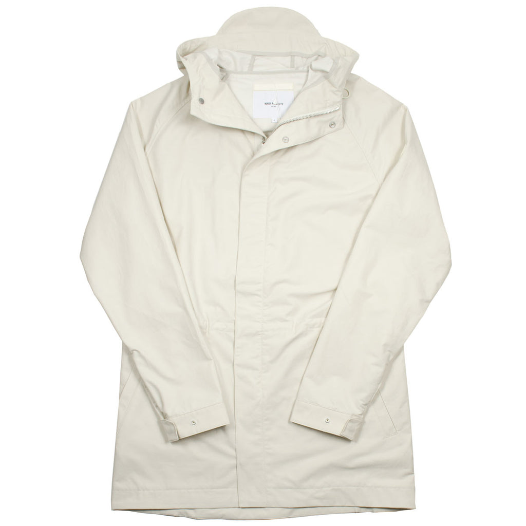 Norse Projects - Lindisfarne Summer Cotton Parka - Ecru