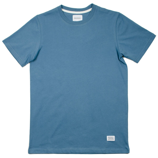 Norse Projects - Niels Basic T-shirt - Marginal Blue