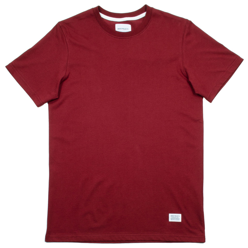 Norse Projects - Niels Basic T-shirt - Red Clay