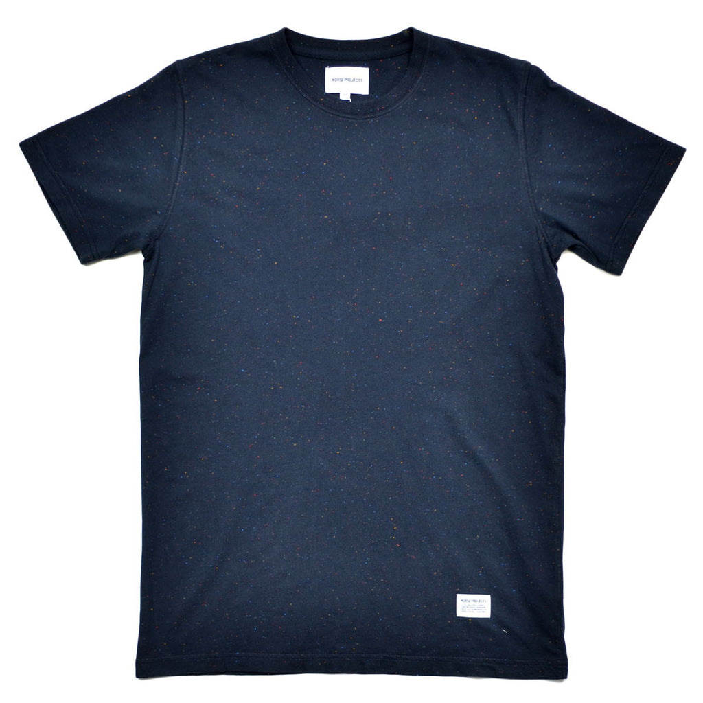 Norse Projects - Niels Boucle T-shirt - Dark Navy