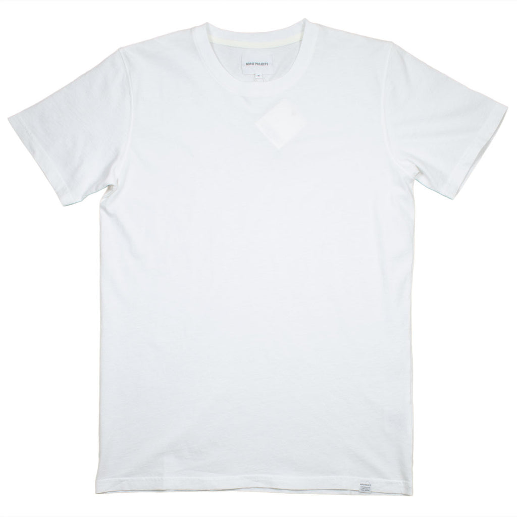 Norse Projects - Niels Bouclé T-shirt - Ecru