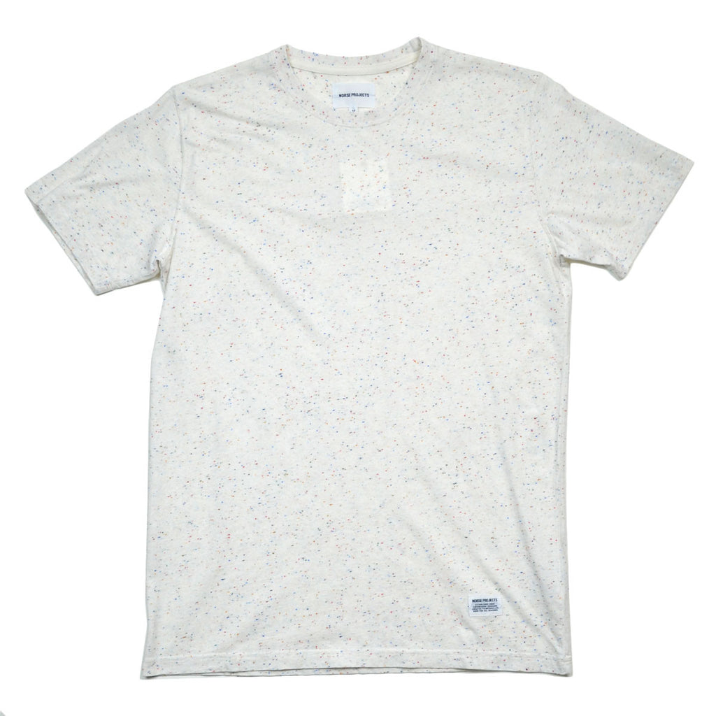 Norse Projects - Niels Boucle T-shirt - White