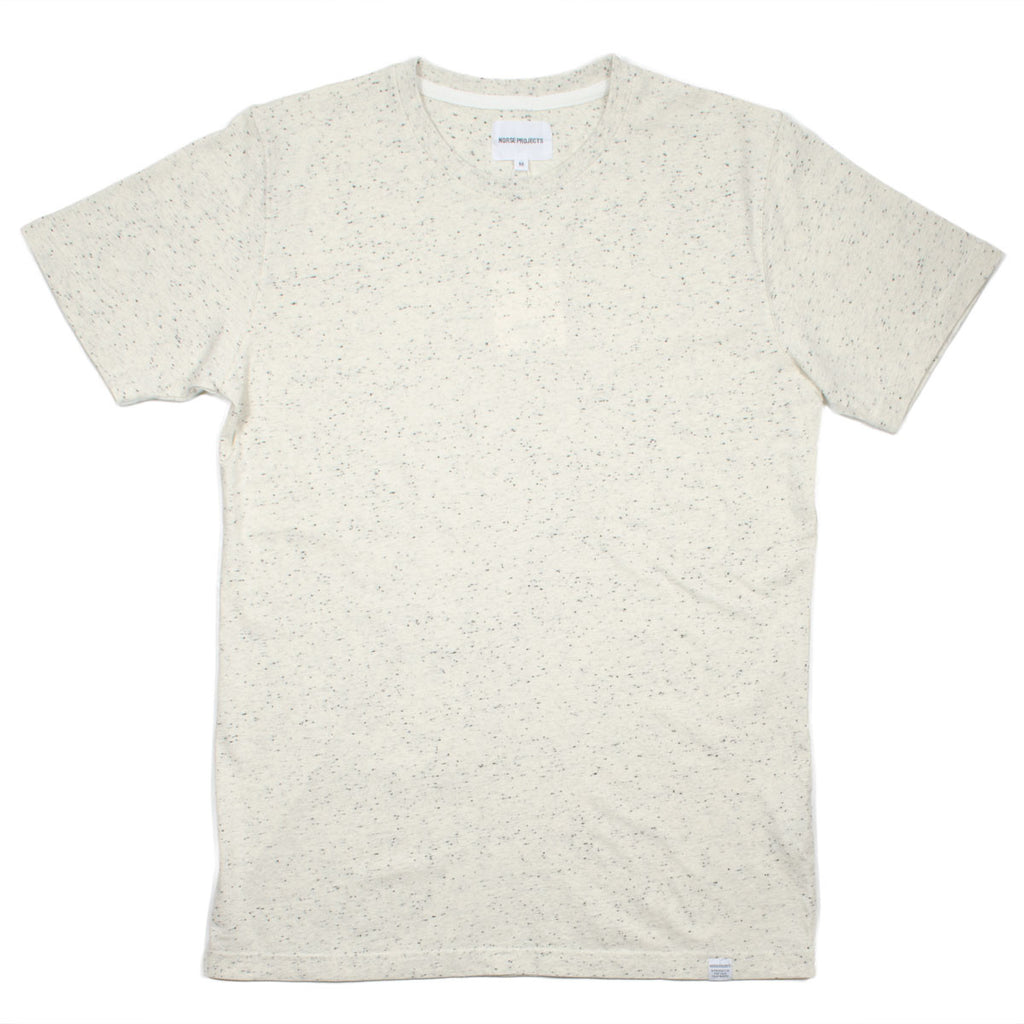 Norse Projects - Niels Classic Bouclé T-shirt - Ecru