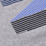 Norse Projects - Niels Layer Logo T-shirt - Light Grey Melange