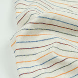 Norse Projects - Niels Mouliné Striped T-shirt - Ecru