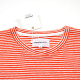 Norse Projects - Niels Pocket Linen T-shirt - Blood Orange