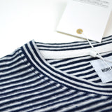 Norse Projects - Niels Pocket Linen T-shirt - Dark Navy