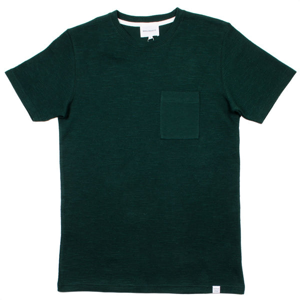 Norse Projects - Niels Pocket T-shirt - Moss