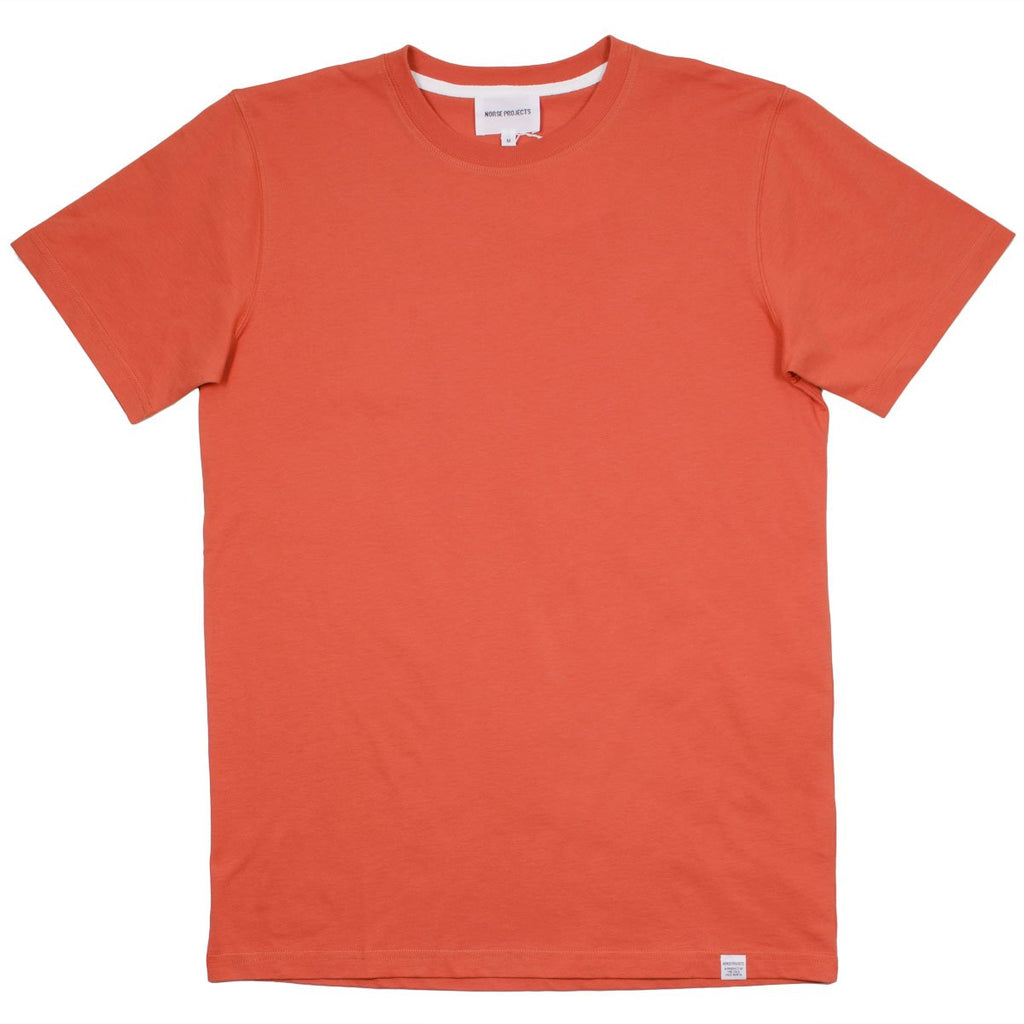 Norse Projects - Niels Standard T-shirt - Burned Red