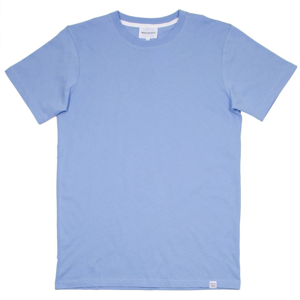 Norse Projects - Niels Standard T-shirt - Luminous Blue