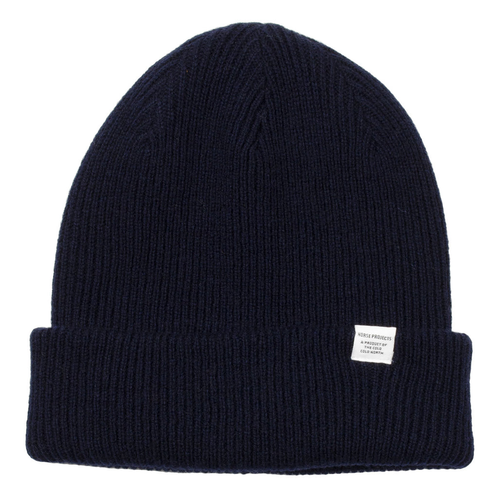 Norse Projects - Norse Beanie - Dark Navy