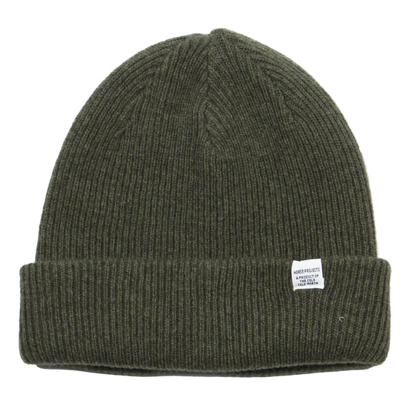 Norse Projects - Norse Beanie - Ivy Green