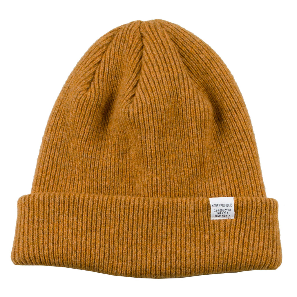 Norse Projects - Norse Beanie - Montpellier Yellow