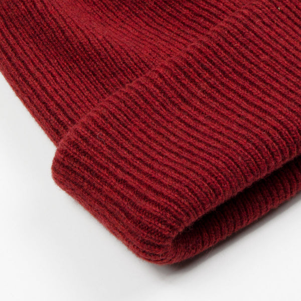 083fd37fa8c Norse Projects - Norse Beanie - Red Clay – BEAUBIEN