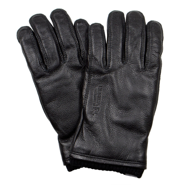 Norse Projects x Hestra - Utsjo Leather Gloves - Black