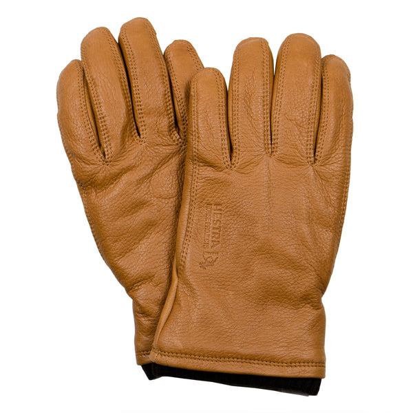 Norse Projects x Hestra - Utsjo Leather Gloves - Tobacco