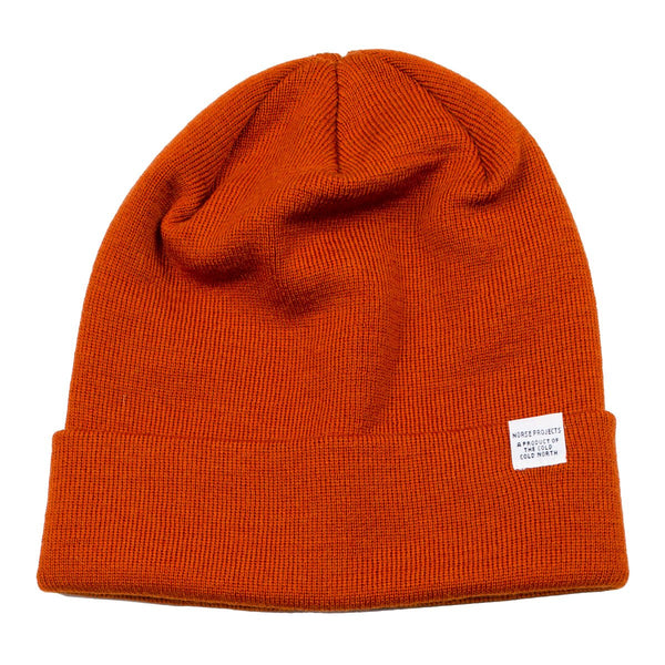 Norse Projects - Norse Top Beanie - Ochre