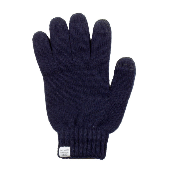 Norse Projects - Norse Wool Gloves - Navy