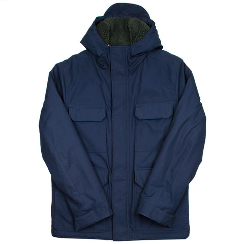 Norse Projects - Nunk Cambric Cotton Parka - Dark Navy
