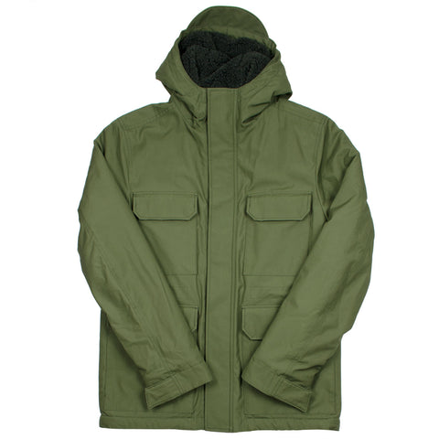 Norse Projects - Nunk Cambric Cotton Parka - Ivy Green