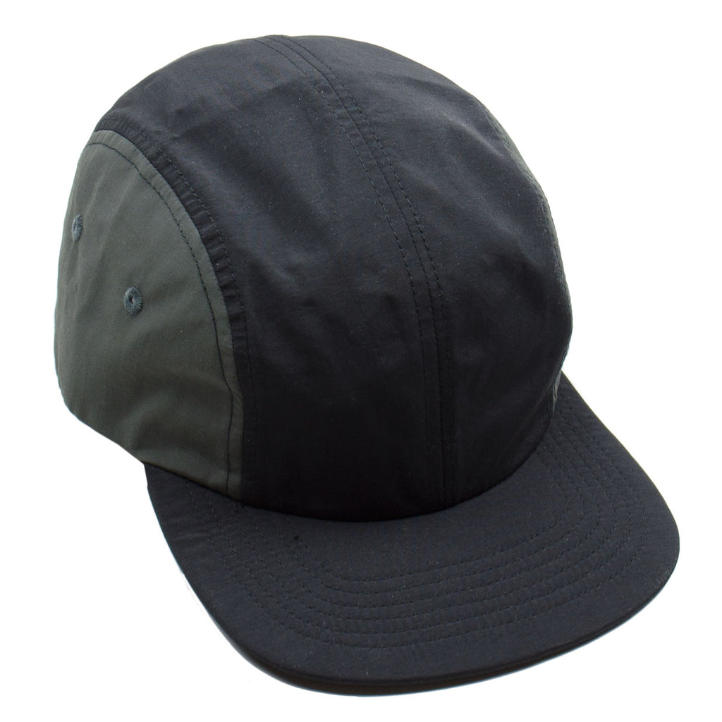 Norse Projects - Nylon 4 Panel Cap - Black