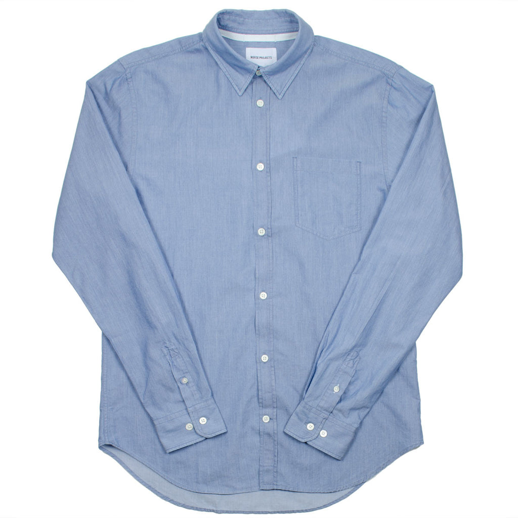 Norse Projects - Osvald Shirt - Light Indigo
