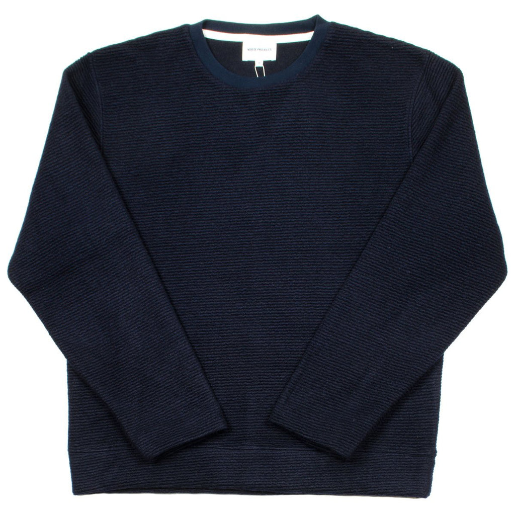 Norse Projects - Rask Japanese Sweatshirt - Navy