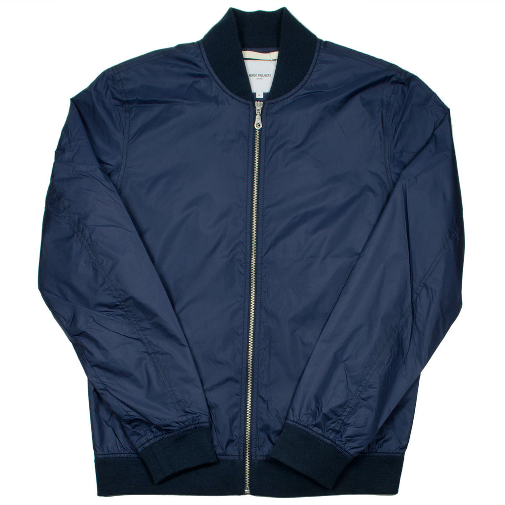 Norse Projects - Ryan Light Ripstop Bomber Jacket - Navy