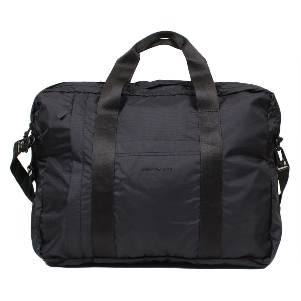 Norse Projects - Shoulder 2 Way Bag - Black
