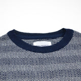 Norse Projects - Sigfred Denim Stitch Sweater - Dark Navy