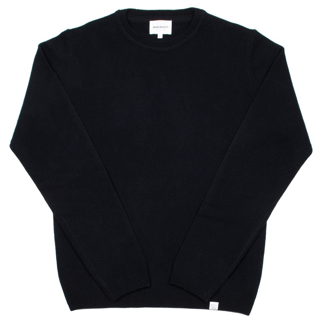 Norse Projects - Sigfred Lambswool Sweater - Black