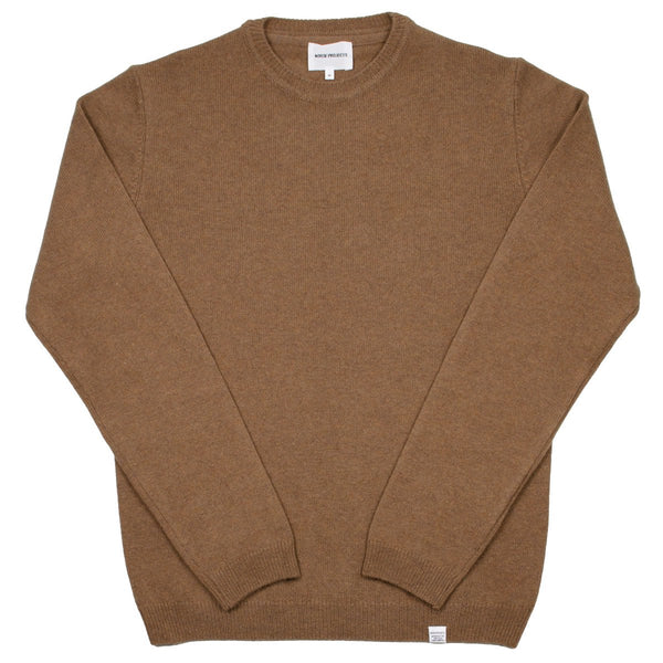 Norse Projects - Sigfred Lambswool Sweater - Camel