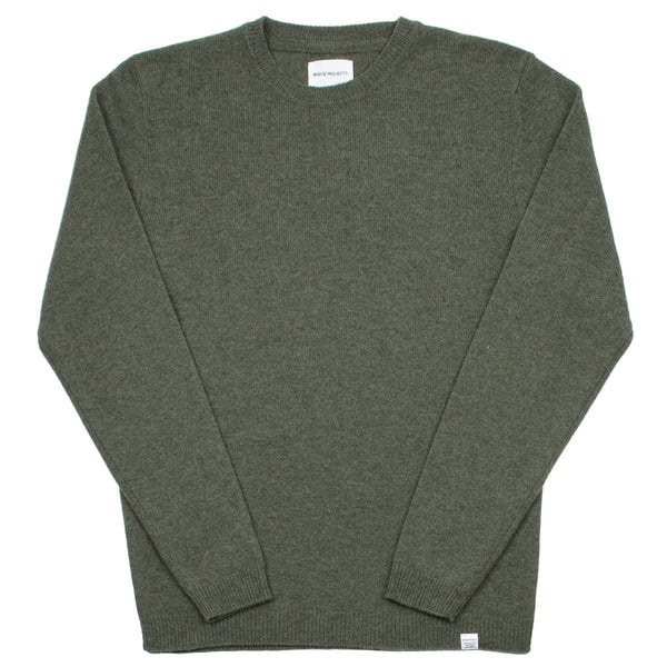Norse Projects - Sigfred Lambswool Sweater - Ivy Green