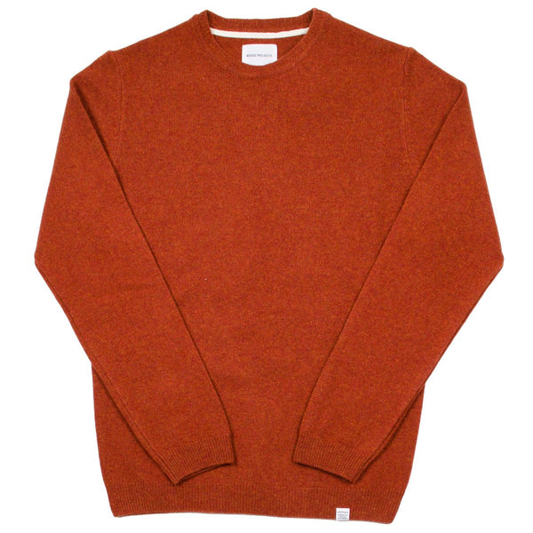 Norse Projects - Sigfred Lambswool Sweater - Ochre