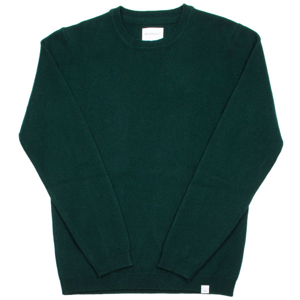 Norse Projects - Sigfred Lambswool Sweater - Quartz Green